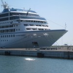 Azamara Quest at the Port of Ravenna