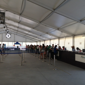 Check In at Ravenna Cruise Terminal