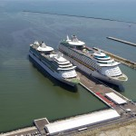 Brilliance and Voyager of the Seas at the Port of Ravenna